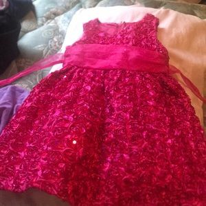 Pink Toddler Formal Dress